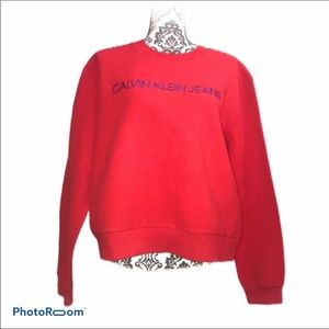 New without tag Calvin Klein fleece pull over